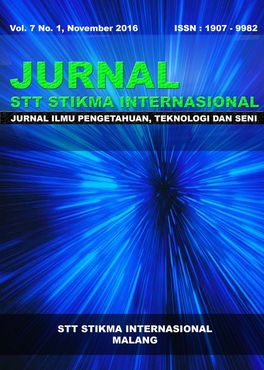 Jurnal STT STIKMA Internasional Vol 7 No 1